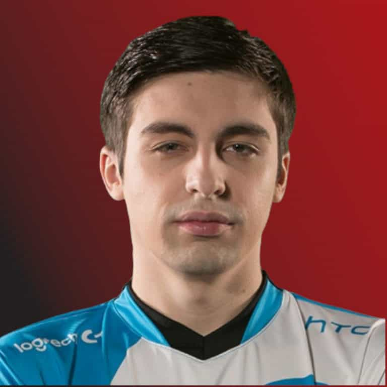 Portrait of Shroud wearing a jersey