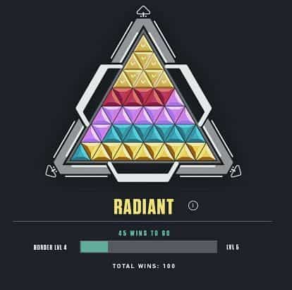 How Ranked Works In Valorant - Triangle Badge