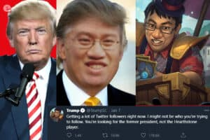 Pro Player Mistaken for Trump Receives Massive Following