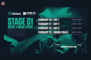 Valorant Challengers North America Main Event Postponed