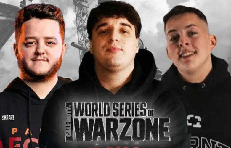 COD Jukeyz, Fifakill & WarsZ Champion for World Series Of Warzone EU Trios