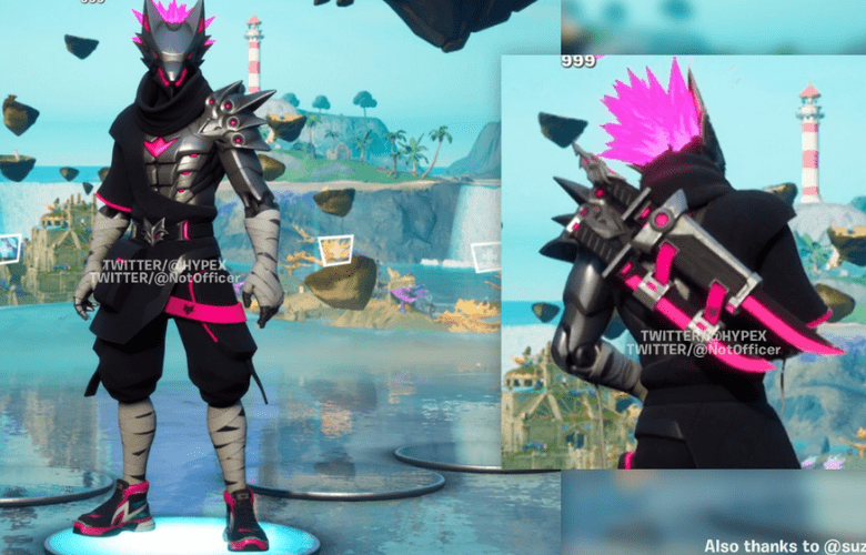 Ninja Wolf Crew pack outfit Fortnite