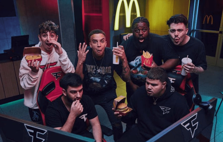 McDonald's the world's largest fast food chain, has signed a major sponsorship deal with FaZe Clan