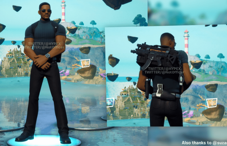 Will Smith Outfit Fornite