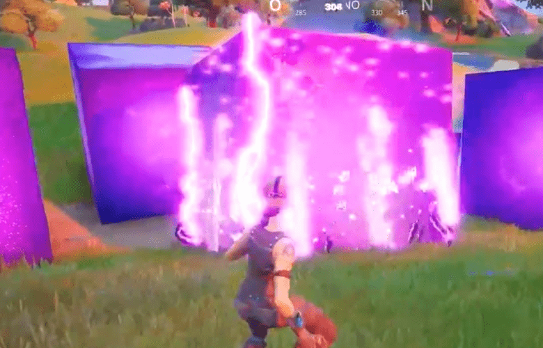 The Purple Cube In Fortnite Has Multiplied